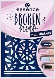 <b>Наклейки для ногтей</b> Essence <b>Broken</b> holo, №12, 5 г — купить в ...