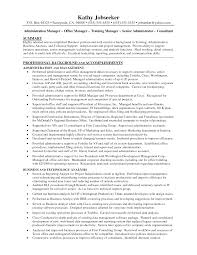 job objective for administrative assistant office administrator medical office manager resume