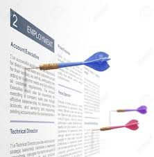 job search advertisement darts on a wall stock photo stock photo job search advertisement 3 darts on a wall