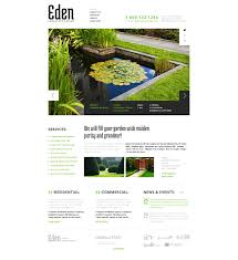 landscape design website templates landscape design responsive website template
