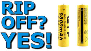 18650 9800 mAh Chinese Cells/Batteries Thorough Review Yes ...