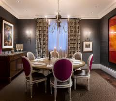 Formal Dining Rooms Elegant Decorating Elegant Victorian Style Formal Dining Room Set With Purple