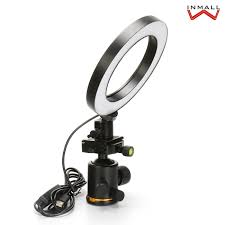 16/26cm <b>Dimmable LED Studio Camera</b> Ring Light Phone Video ...