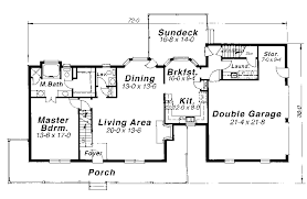 Matson Hill Country Home Plan D    House Plans and MoreCountry House Plan First Floor   D    House Plans and More