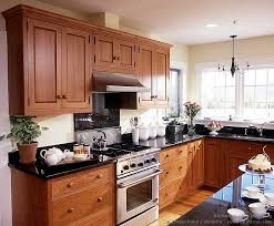 in style kitchen cabinets:  shaker kitchen cabinets kitchen cabinets traditional light wood  cpc shaker cherry stainless steel hood