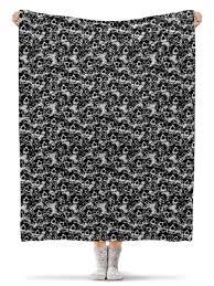 Плед флисовый 130×170 см Камуфляж &quot