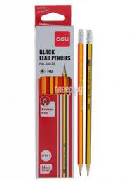 Купить <b>Карандаш чернографитный Deli 12шт</b> E38030 по низкой ...