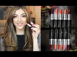 Top 5 <b>MAC</b> Lipsticks | Amelia Liana - YouTube