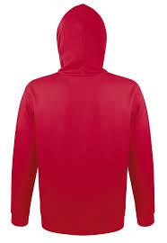 <b>Толстовка с капюшоном Snake</b> 280, красная с логотипом - купить ...