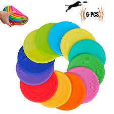 TEESUN <b>Dog</b> Frisbee Training Toys <b>Flying</b> Discs Flyer <b>Silicone</b> for ...