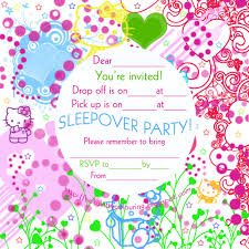 ticket clipart slumber party invitation printable party hello kitty slumber party invitation 10149 minions