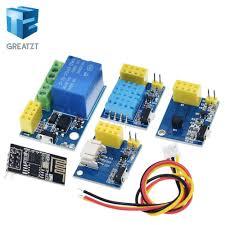 GREATZT ESP8266 <b>5V</b> WiFi relay module DS18B20 DHT11 <b>RGB</b> ...
