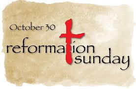 Image result for reformation sunday