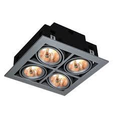 <b>Встраиваемый светильник Arte Lamp</b> Cardani A5930PL-4SI ...
