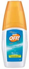 Аква-<b>спрей Off</b> от <b>комаров</b>, охлаждающий эффект 100 мл ...