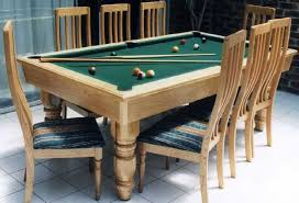 pool table dining tables: gallery of elite for dining room pool tables
