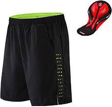 WOSAWE Men's MTB Cycling Padded Shorts Silicone ... - Amazon.com