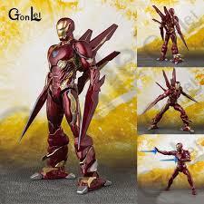 NEW Hot Marvels <b>Avengers</b> 4 Endgame War SHF Ironman MK50 ...