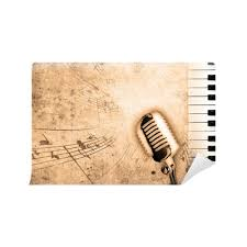<b>dirty music background</b> Wall Mural • Pixers® - We live to change