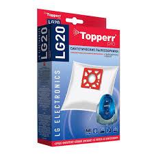 <b>Пылесборники Topperr LG 20</b> 4шт + фильтр для пылесосов LG ...