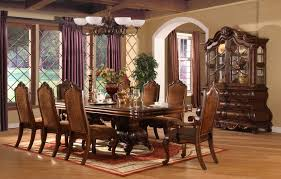 Formal Dining Room Decor Formal Dining Room Ideas Some Brown Wooden Dining Chairs