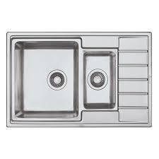 <b>Кухонная мойка Seaman</b> Eco Roma SMR-7850B, без отверстий ...