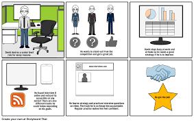 interviewu storyboard by bendabletech