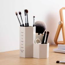 <b>Ins Cute Cartoon</b> Makeup Pot Brush Storage Box <b>Nordic</b> Animal ...