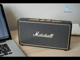 Обзор <b>колонки Marshall Stockwell</b> - YouTube