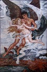 Мозаичное <b>панно</b> по картине Боттичелли Рождение весны ...