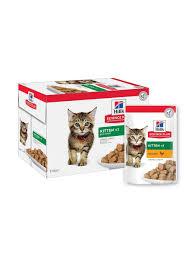 Влажный корм <b>Hill's Science</b> Plan для котят, <b>пауч</b> с курицей в ...