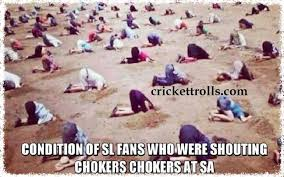 Dejected Sri Lankan fans !!! | Cricket Trolls - Funny Cricket ... via Relatably.com