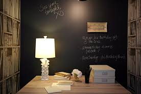 bedroom chic chalkboard walls wall paint