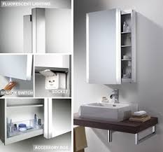 sliding bathroom mirror:  interior sliding door bathroom cabinet bathroom cabinet designs recessed mirror cabinet  amusing sliding door