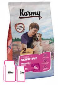 Товары для собак - <b>Сухие корма</b> - Премиум - <b>Karmy</b>