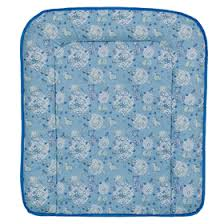 <b>Доска пеленальная Фея мягкая</b>, цвет голубой (0005461м-1 ...