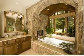 stone veneers bathroom  images about stone house bathrooms on pinterest western homes ideas f