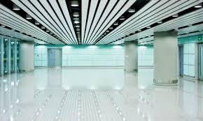 fluorescent lighting image overhead office lighting