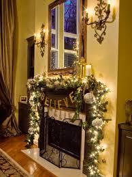 fireplace christmas decorations decoration garland