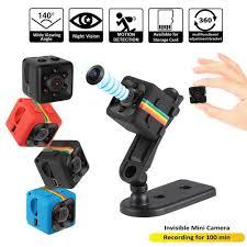 SQ11 <b>Mini Camera</b> Small <b>Cam 720P</b> Night Vision <b>Sensor</b> ...