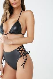 <b>High Waisted Bikini</b> Bottoms | Women's <b>Swimwear</b> | Forever 21