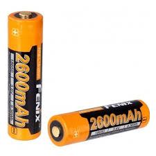 <b>Аккумулятор 18650 Fenix</b> Li-ion 2600 mAh, ARB-L18-2600 (с ...