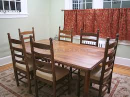 Restaining Kitchen Table How To Refinish Old Dining Room Table Decor
