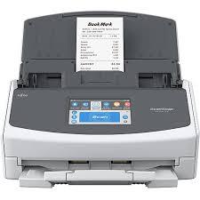 Fujitsu <b>ScanSnap iX1500</b> Wireless Portable <b>Document</b> Scanner, White
