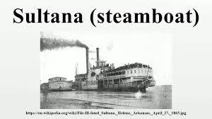 「Sultana steamboat」の画像検索結果