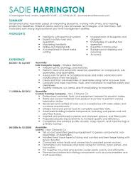 production worker resume best template collection sample resume production worker