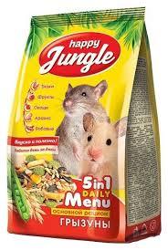 Кормы для грызунов и хорьков <b>Happy Jungle</b> - купить кормы для ...