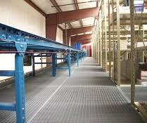19w2 carbon steel bar grating idea for mezzanine and work platforms cat walks pick modules pallet jack egress and service aisle flooring bar grate mezzanine floor