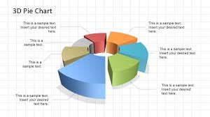 d pie chart diagram for powerpoint   slidemodel d pie chart diagram for powerpoint