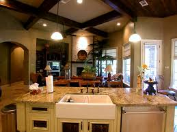 family kitchen decor eclectic